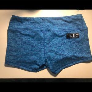 Blue Fleo Shorts Like New